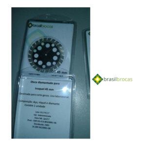 Disco Diamantado 45mm Serrilhado